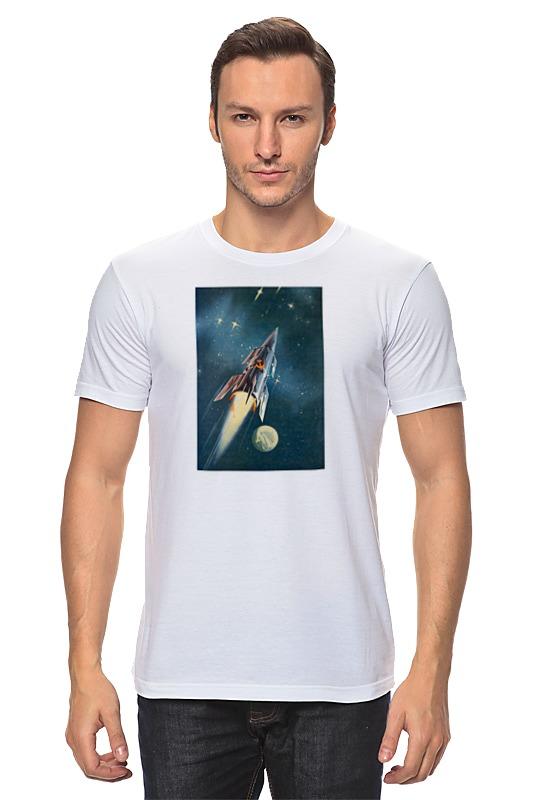 Футболка классическая Printio Космос. ссср футболка классическая printio глобус ссср