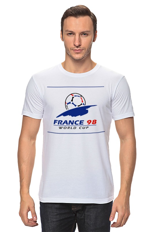 Футболка классическая Printio Чемпионат мира по футболу 1998 чемпионат мира по регби 2019 франция сша