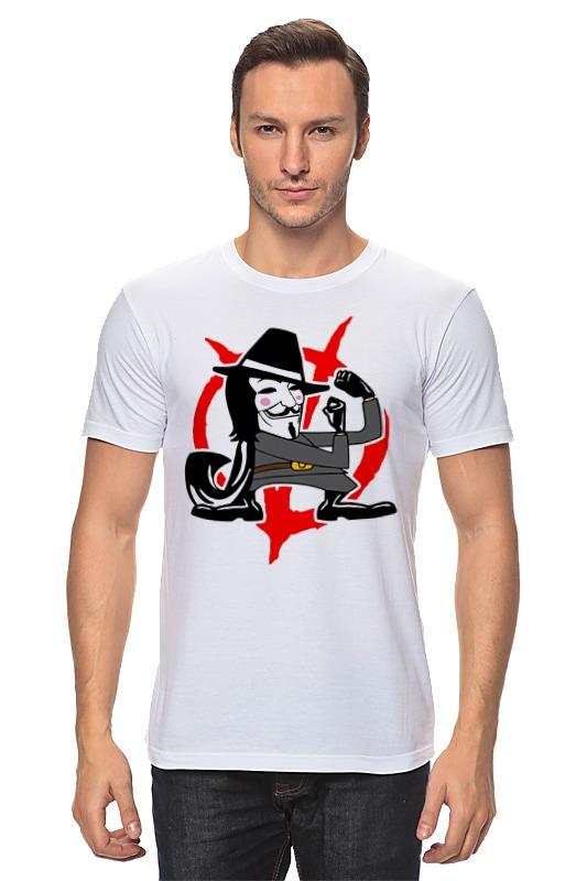 Футболка классическая Printio Вендетта (маска гая фокса) airhole маска airhole matterhorn