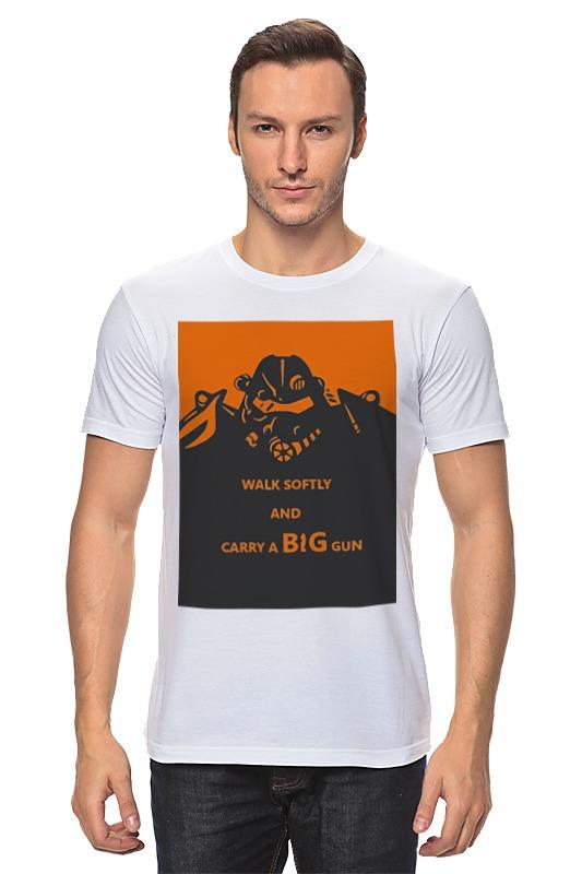 Футболка классическая Printio Fallout - big gun футболка классическая printio fallout фэллаут
