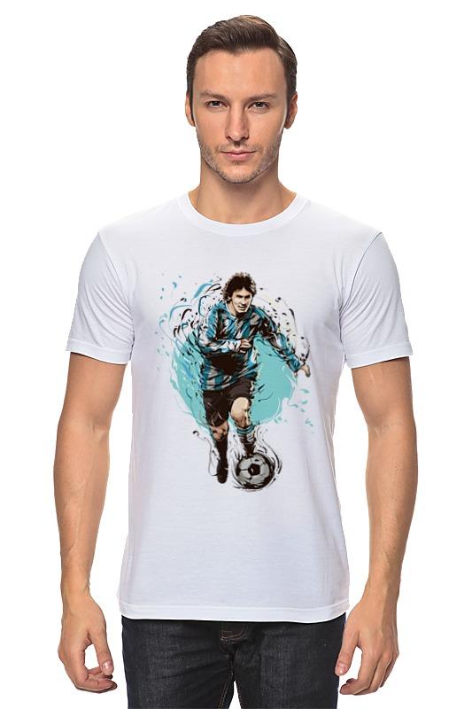 Printio Лионель месси футболка месси