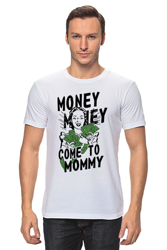 Футболка классическая Printio Money money худи print bar money power woman