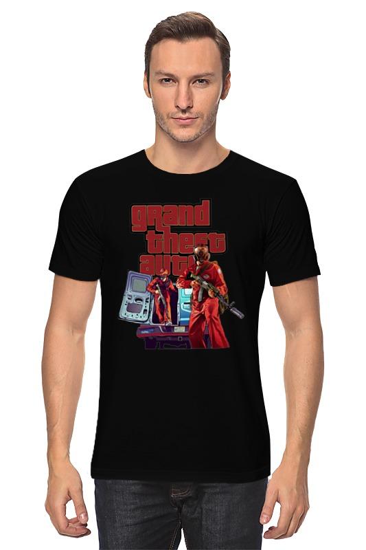 Футболка классическая Printio Gta. футболка классическая printio mario gta