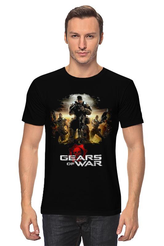 Футболка классическая Printio Gears of war 2 футболка классическая printio shift gears and burn rubber