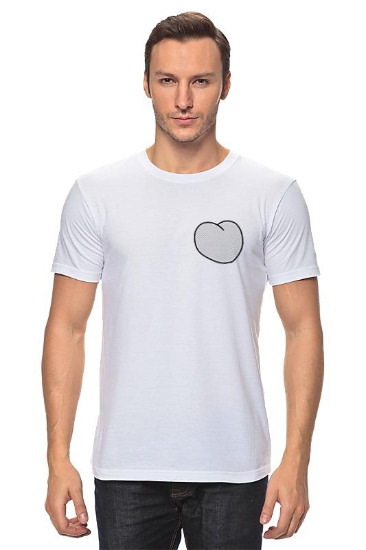Футболка классическая Printio Вырезанное сердце футболка для фотошопа