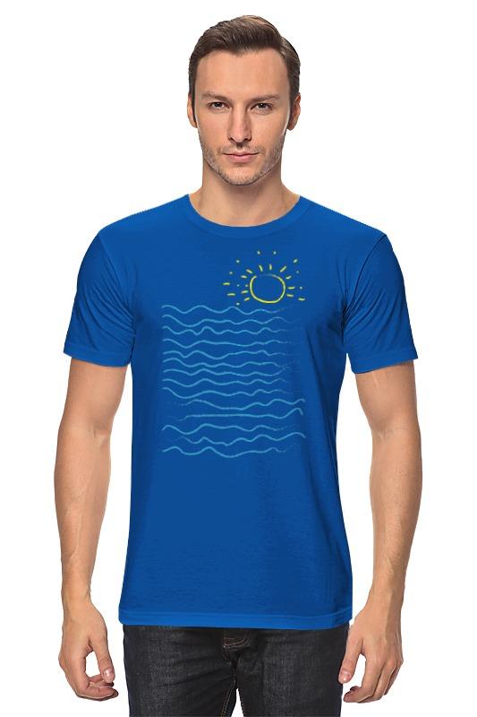 Футболка классическая Printio Море и солнце футболка классическая printio оранжевое солнце