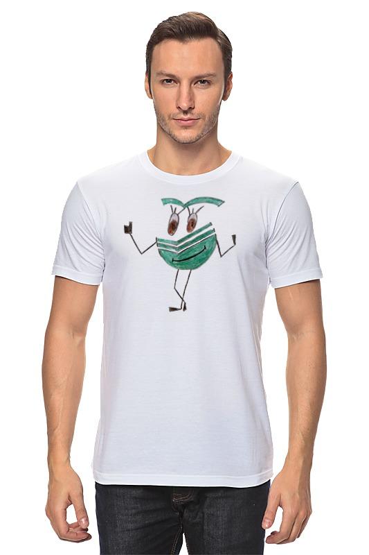 Футболка классическая Printio Сберсмайлик радостный футболка классическая printio радостный крот