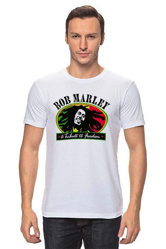 Футболка классическая Printio bob marley