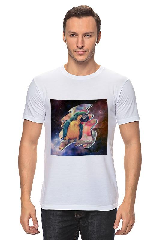 Футболка классическая Printio Цветастый попугай брелоки aztek брелок попугай