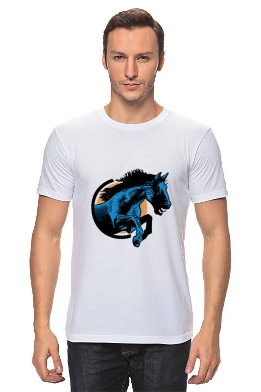 Футболка классическая Printio Лошадь