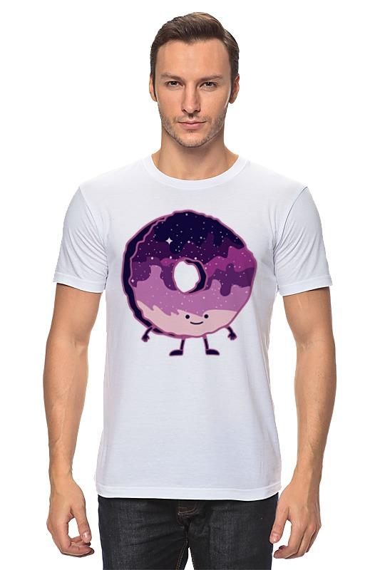 Футболка классическая Printio Космический пончик (space donut)