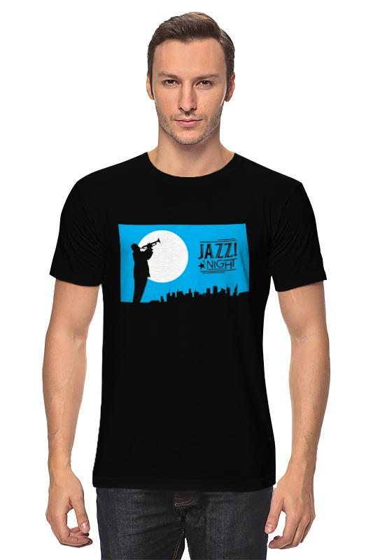 Футболка классическая Printio Ночь джаза марина городничева восьмая луна сказки ночного города