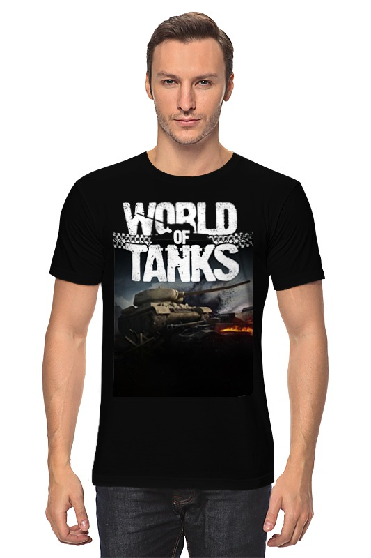 Футболка классическая Printio World of tanks футболка стрэйч printio world of tanks
