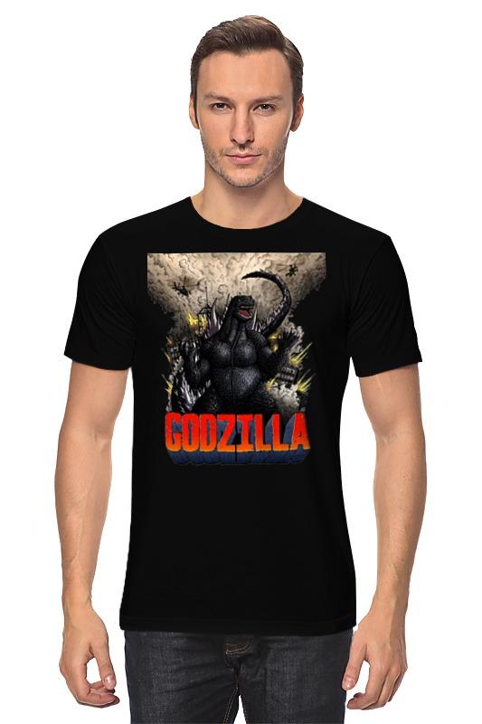 Футболка классическая Printio Godzilla