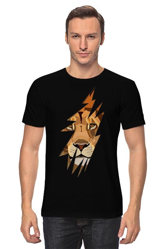 Футболка классическая Printio Лев ( lion) boltze стеллаж vito
