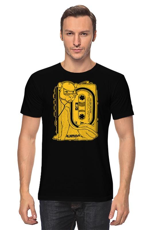 Футболка классическая Printio Walkman lion