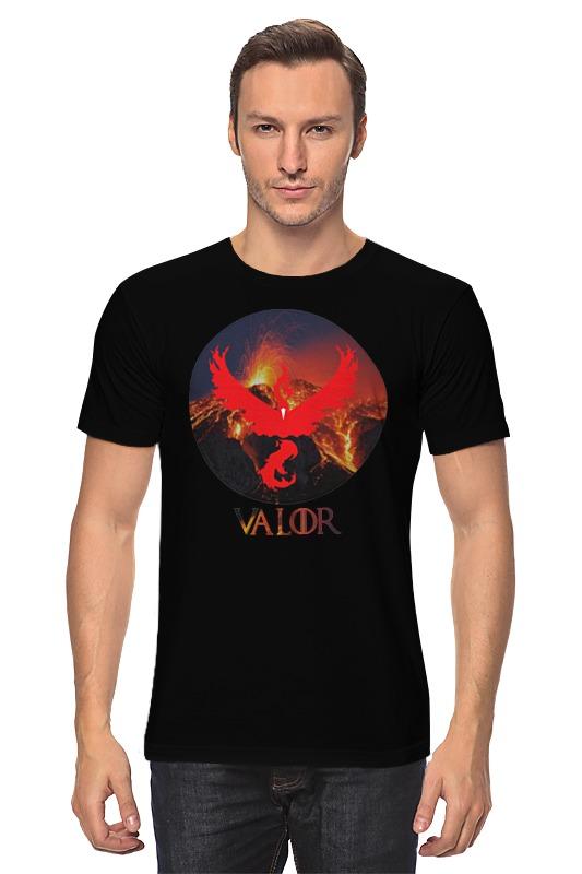 Футболка классическая Printio Valor туфли valor wolf valor wolf va090amagky5
