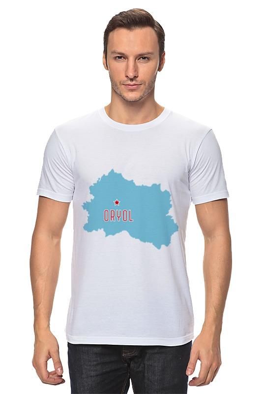 Футболка классическая Printio Орловская область. орел
