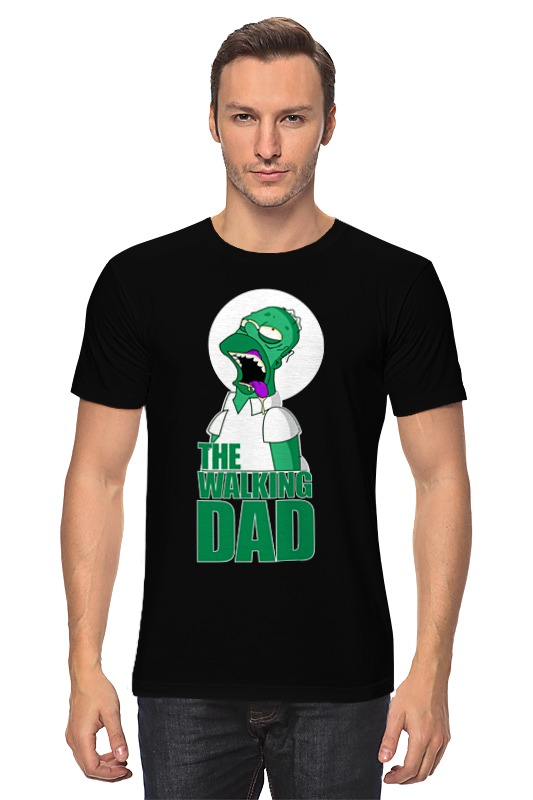 Футболка классическая Printio Homer walking dead футболка print bar homer in pieces