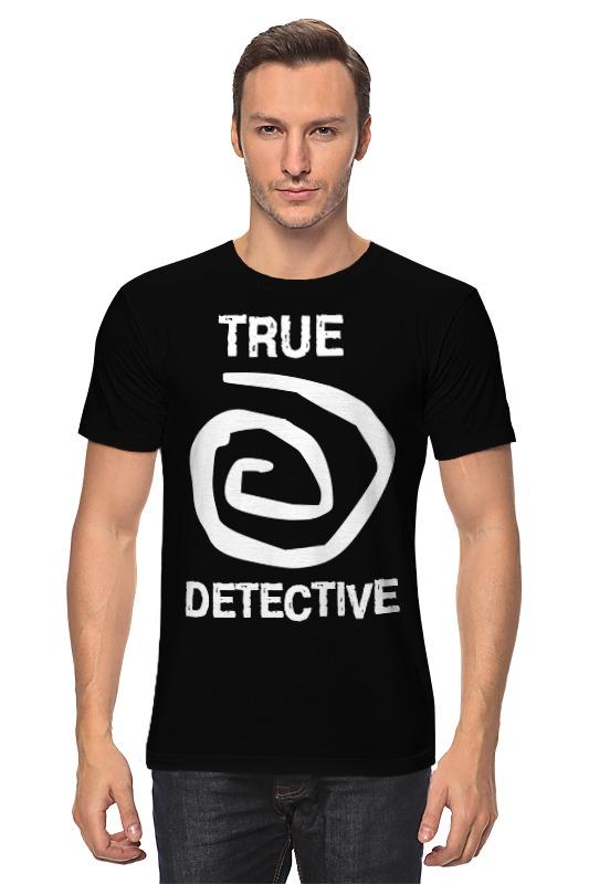 Футболка классическая Printio True detective detective cross