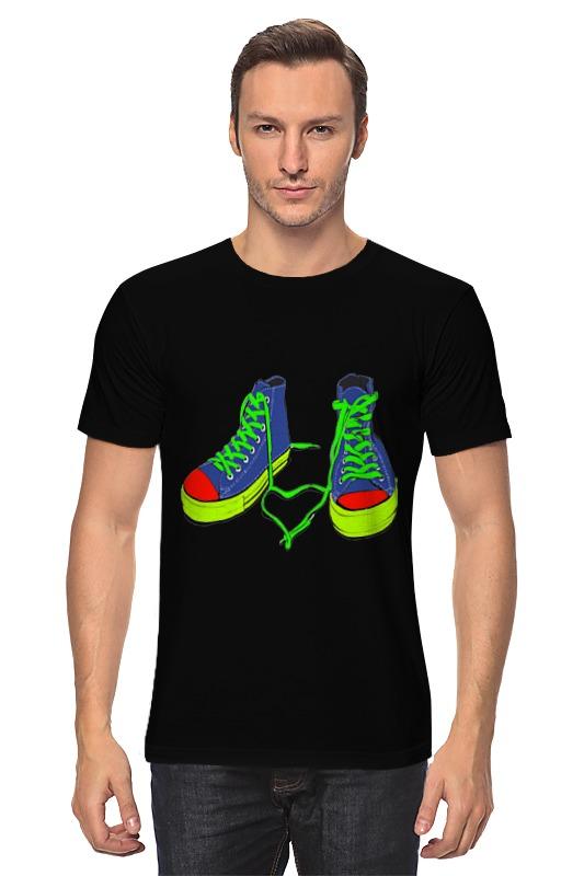 Футболка классическая Printio Цветные кеды