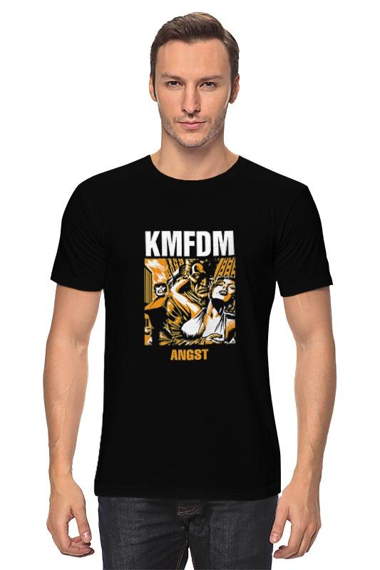 лучшая цена Футболка классическая Printio Kmfdm