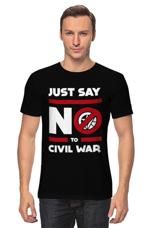 Футболка классическая Printio Civil war майка print bar civil war