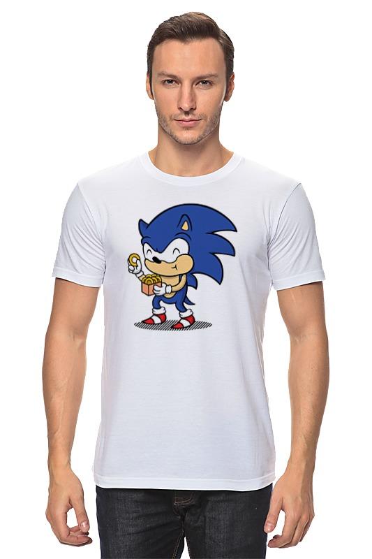 Футболка классическая Printio Соник футболка классическая printio соник