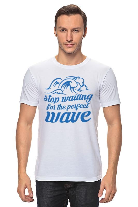 Футболка классическая Printio Волны футболка классическая printio ищу большую волну