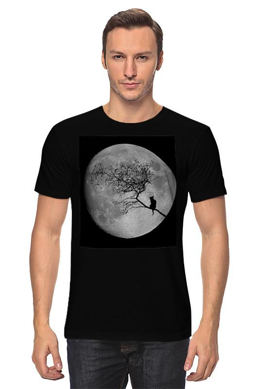 Футболка классическая Printio Лунная ночь макдональд г как упорядочить свой внутренний мир