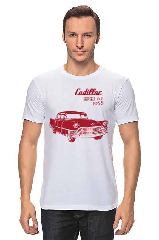 Футболка классическая Printio Кадиллак серия 62 (1953) футболка классическая printio 62 2% в саратове