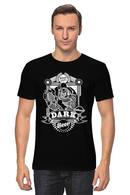 купить Футболка классическая Printio Dark beer (star wars) недорого