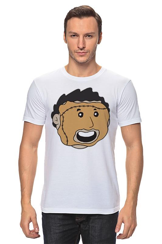 Футболка классическая Printio Кожаное лицо (leatherface) футболка стрэйч printio кожаное лицо