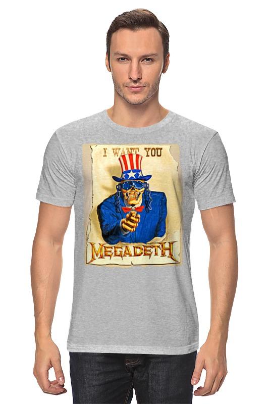 Футболка классическая Printio Megadeth megadeth stockholm