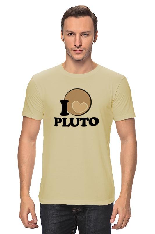 Футболка классическая Printio Плутон (pluto) планета на которой убивают