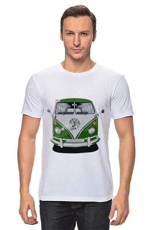 Футболка классическая Printio Volkswagen автобус volkswagen lt 28