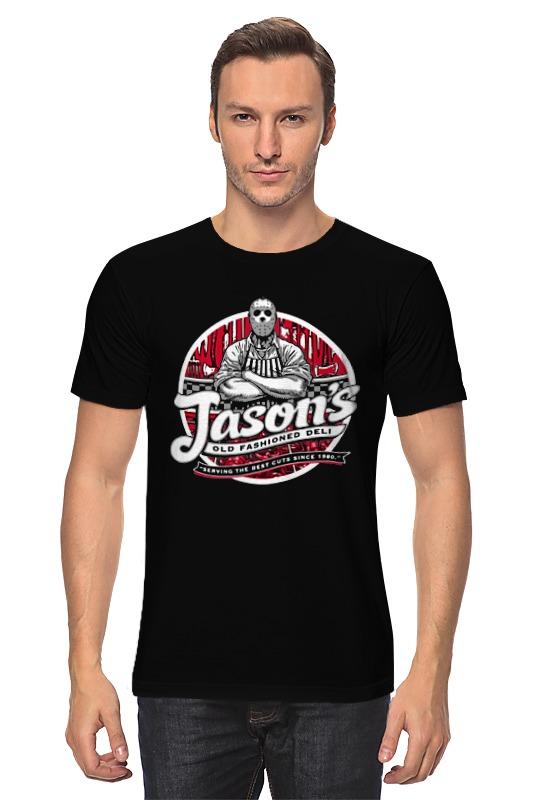 Футболка классическая Printio Джейсон вурхиз (пятница 13) цена