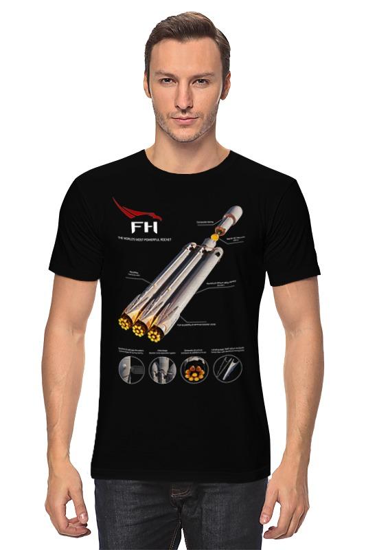 Футболка классическая Printio Falcon heavy v1 клапан газовый fire maple valve v1 fms0 v1