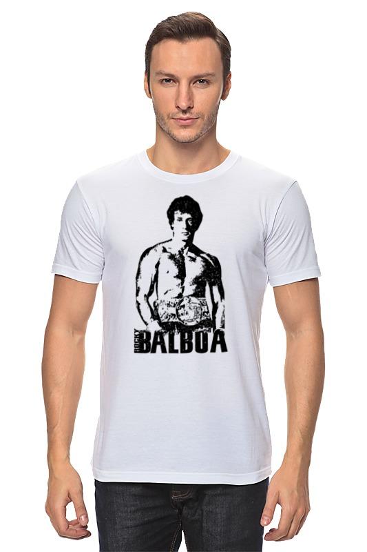 Футболка классическая Printio Rocky balboa толстовка ponyhouse 4a lct rocky balboa sweatshirts
