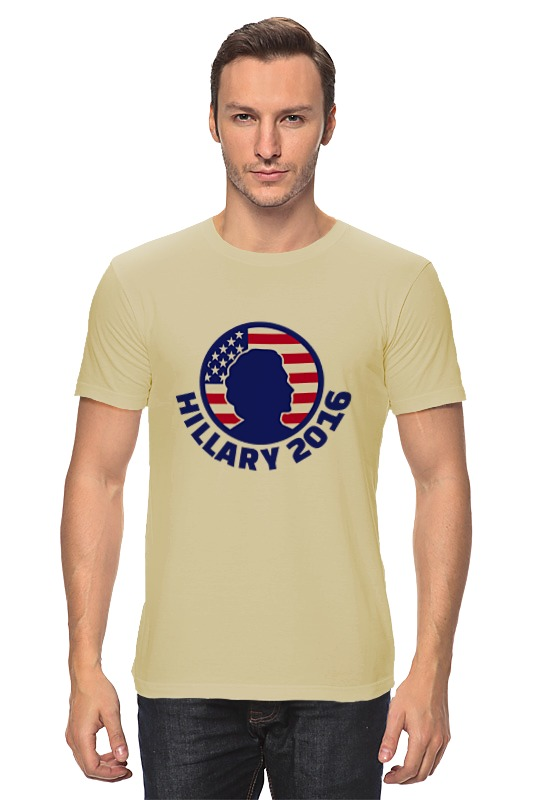 Футболка классическая Printio Hillary 2016 кепка printio hillary 2016