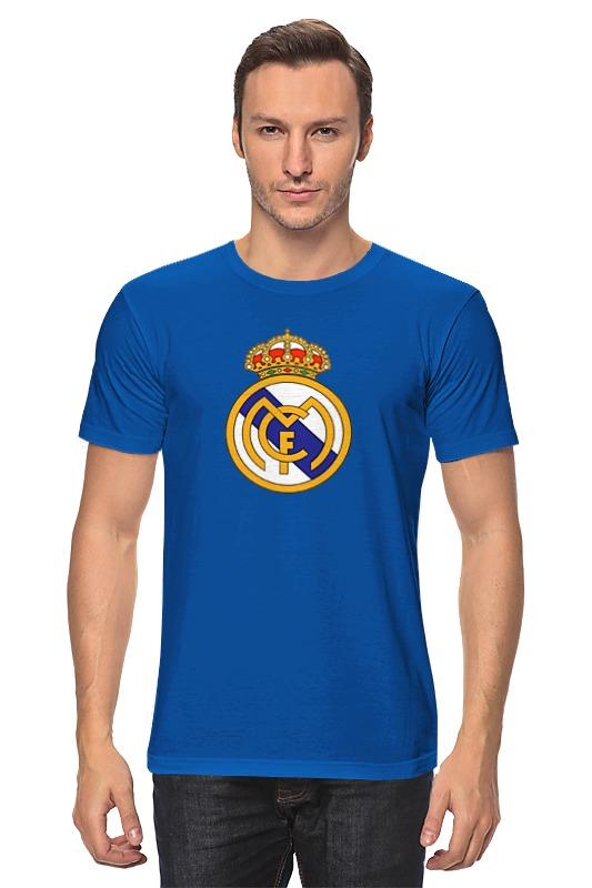 Футболка классическая Printio реал мадрид футболка рингер printio real madrid реал мадрид