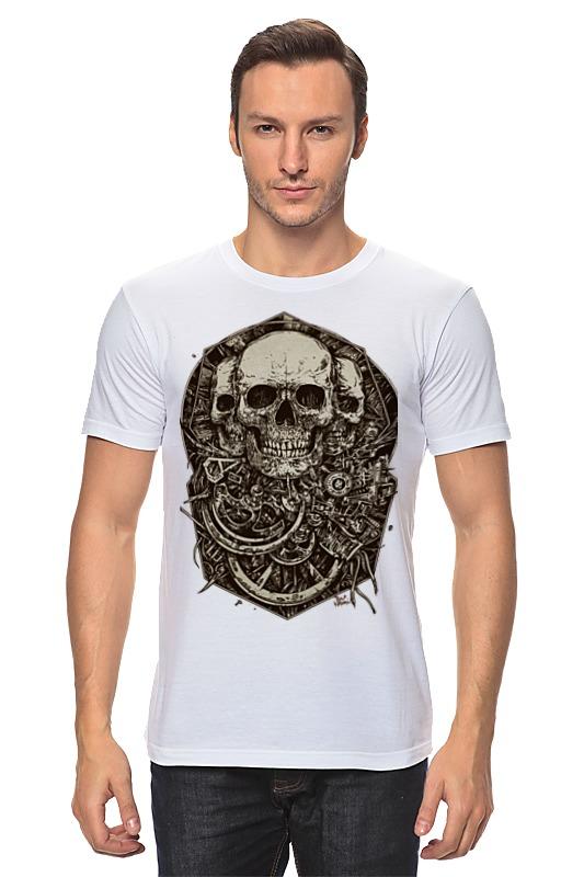 Футболка классическая Printio Skulls dashing diva 3d jewels skulls