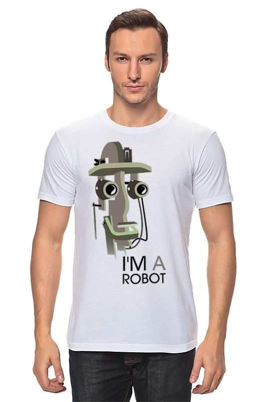 Футболка классическая Printio I`m a robot сумка printio i m a robot