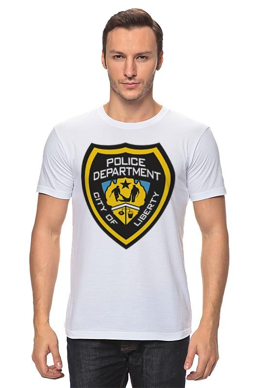 Футболка классическая Printio Police department цена 2017