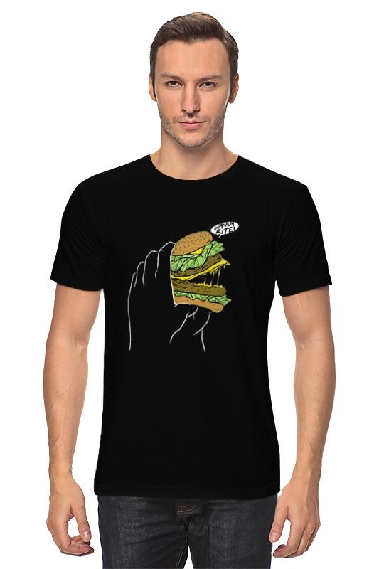 Футболка классическая Printio Сэндвич блокнот сэндвич 002211