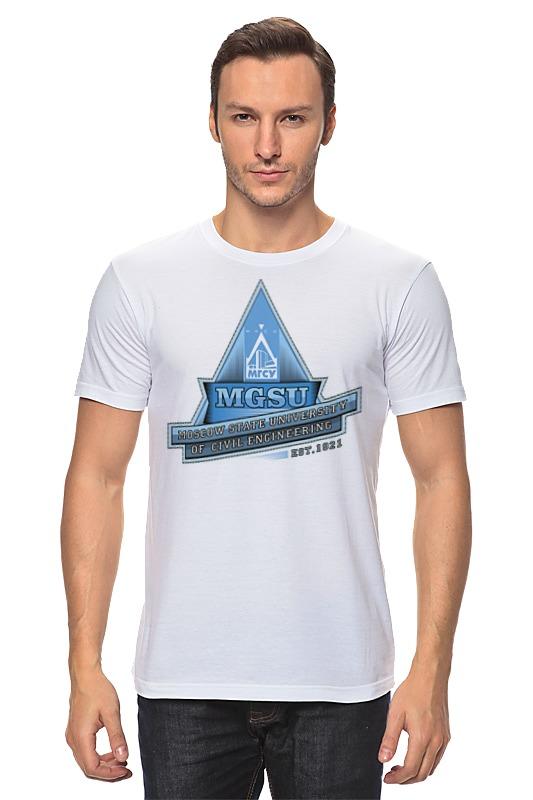 Футболка классическая Printio Мужская мгсу футболка мужская asos 305515