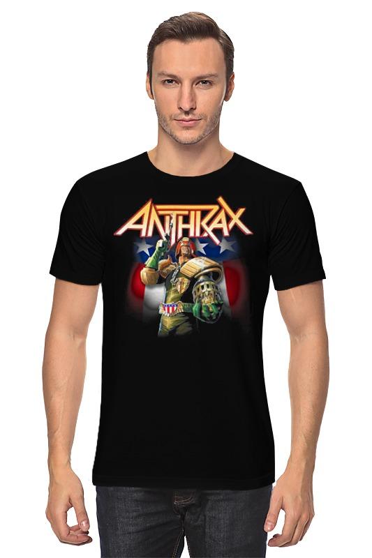 Футболка классическая Printio Anthrax band anthrax anthrax worship music 2 lp