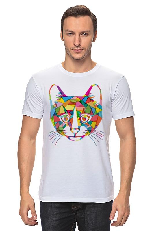 Футболка классическая Printio Кот (cat)