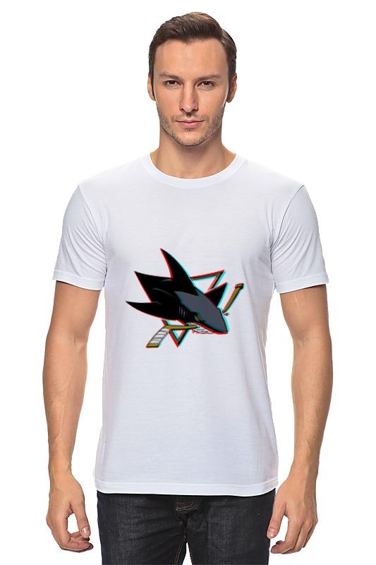 Футболка классическая Printio San jose sharks детская футболка классическая унисекс printio сан хосе шаркс