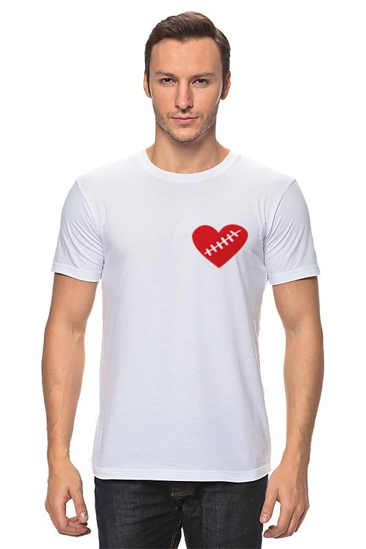 Футболка классическая Printio Heart